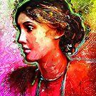 Virginia Woolf by © Helen Chierego