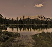 Buller Pond, Kananaskis Country by Vickie Emms