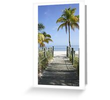 This Way to Paradise Greeting Card