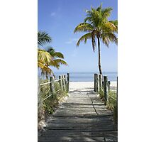 This Way to Paradise Photographic Print