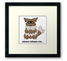 Release Your Zigzagoons Framed Print