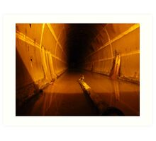 Oil Storage Tunnel #6 - Darwin's WW2 History Art Print