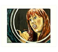 Tenacious Donna Art Print