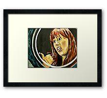 Tenacious Donna Framed Print