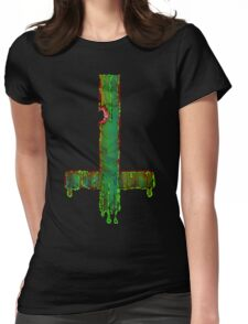 Melting II Womens Fitted T-Shirt