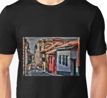 Old Quarters in Bogota Unisex T-Shirt