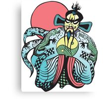 FU MANCHU BIG TROUBLE LITTLE CHINA Canvas Print