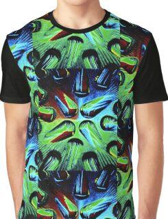 Green TearDrop Graphic T-Shirt