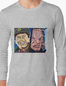 The Face of Boe, They Called Me Long Sleeve T-Shirt