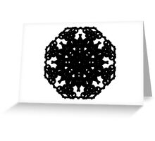I Love You Lace Abstract Greeting Card
