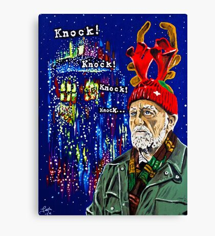 Wilfred Mott and the Four Knocks. Canvas Print