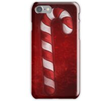 A Candy Cane For Christmas iPhone Case/Skin