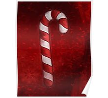 A Candy Cane For Christmas Poster