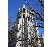 Lausanne Cathedral Gothic  Photographic Print