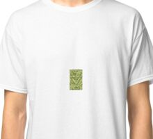 Green Zig-Zag Knit Classic T-Shirt