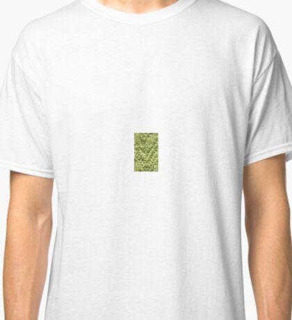 Green Zig-Zag Knit Classic T-Shirt