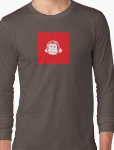 Truck Stop Bingo - Red Long Sleeve T-Shirt