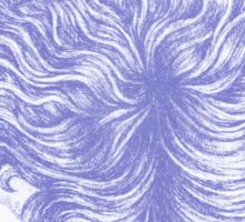 "Detail from ""Celestial Sea"" Sticker"