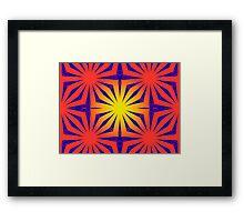 Psychedelic Web Framed Print