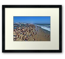 US Open of Surfing Framed Print