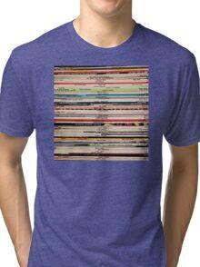 Blue Note Vinyl Records Tri-blend T-Shirt