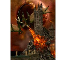 Dragon's Siege Photographic Print