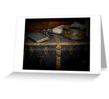 A Chest Filled With Memories Greeting Card