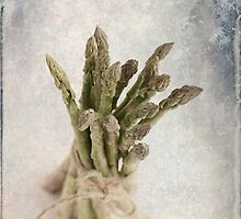 Still Life #2 ; Asparagus by Malcolm Heberle