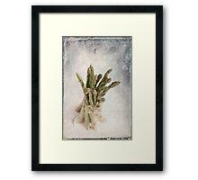 Still Life #2 ; Asparagus Framed Print