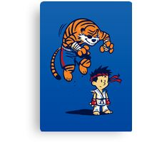 Tiger! - POSTER Canvas Print