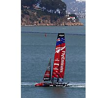 Emirates Team New Zealand in San Francisco Photographic Print