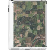 USGS Topo Map Washington State WA Plaza 20110401 TM iPad Case/Skin