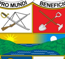 Coat of Arms of Panama Sticker