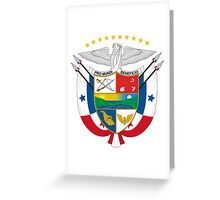 Coat of Arms of Panama Greeting Card