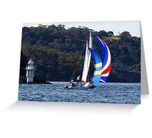 Ransa Sailing #2 Greeting Card