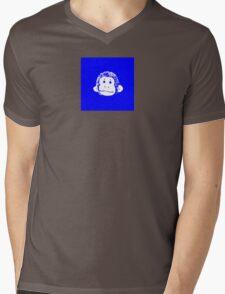 Truck Stop Bingo - Blue Mens V-Neck T-Shirt