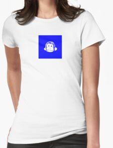 Truck Stop Bingo - Blue Womens Fitted T-Shirt