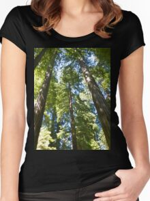 Reach for the Sky Women's Fitted Scoop T-Shirt