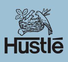 Hustlé - black print by Tunic