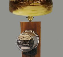 ❀◕‿◕❀ MY Antique Westinghouse OB Electric Watthour Meter Lamp ❀◕‿◕❀ by ✿✿ Bonita ✿✿ ђєℓℓσ