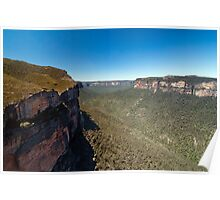 Pierces Pass  - Blue Mountains Poster