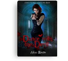 Dance with the Devil Cover Concept Canvas Print