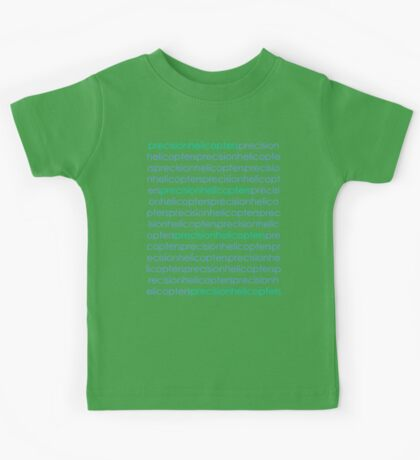 Precision Helicopters Kids Tee