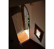 Doorway to the light Photographic Print
