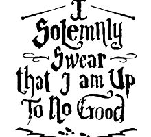 I Solemnly Swear  - Harry Potter Quotes by HDViller