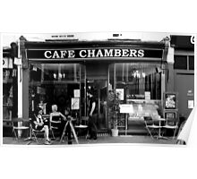 Canterbury - Chambers Cafe Poster