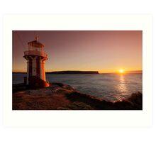 Hornby Lighthouse Art Print