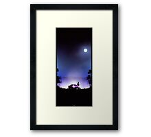 Dead Cruiser Framed Print