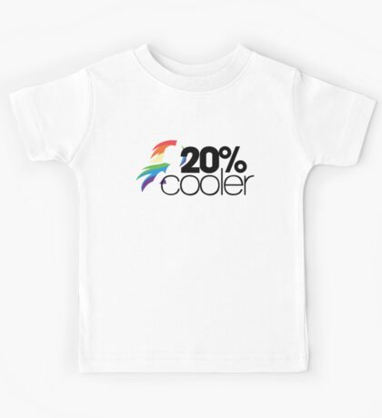 20% Cooler! (ALL options) - WHITE Kids Tee