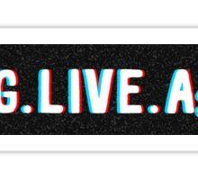 Long Live A$AP Sticker